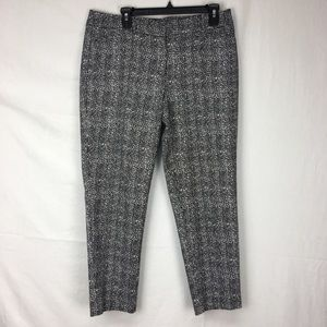 White House Black Market Black Dapper Tweed Pants